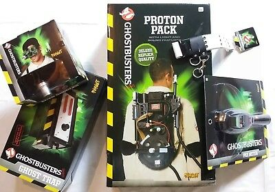 Ghostbusters Proton Pack PKE Meter Trap Goggles ALL Spirit Halloween GLOBAL SHIP