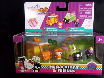 Dazzle Dash HELLO KITTY & Friends diecast Orange Truck Ice Cream Coupe Jada NEW