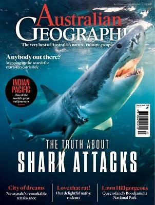 Australian Geographic Magazine MAR - APRIL 2018, THE TRUTH ABOUT SHARK ATTACKS