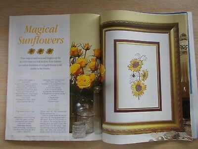 Embroidery & Cross Stitch Vol 10 #2~Stumpwork~Chatelaine~Smocking~Carpenter Ted