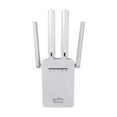 300Mbps Dual-Band 2.4 / 5G 4-Antenna WIFI Range Extender WiFi Repeater Router