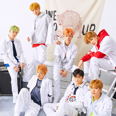 NCT DREAM [WE GO UP] 2nd Mini Album CD+Foto Buch+Foto Karte+Sticker K-POP SEALED