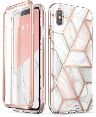 "For iPhone Xs Max 6.5"" Case i-Blason Cosmo Sparkle Bumper Cover+Screen Protector"