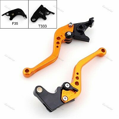 Short Brake Clutch Levers For Triumph Daytona675 SPEED/Street Triple 675/R GD KK