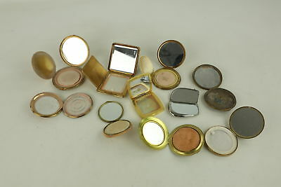 10 x Vintage Ladies Vanity Compacts & Mirrors Inc. Rococo, Vanity Fair, Scottish