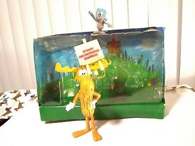 The Adventures Of Rocky And Bullwinkle And Friends PVC Figures
