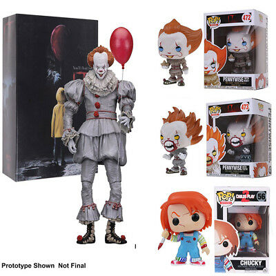Funko Pop It Pennywise With Balloon Hot Topic Exclusive