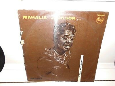 MAHALIA JACKSON I Ask The Lord *PHILIPS LABEL VINYL 60s LP*