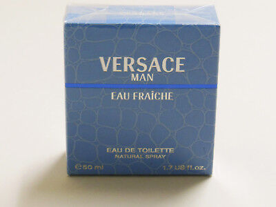 Versace Man Eau Fraiche, 50ml, EdT, natural Spray