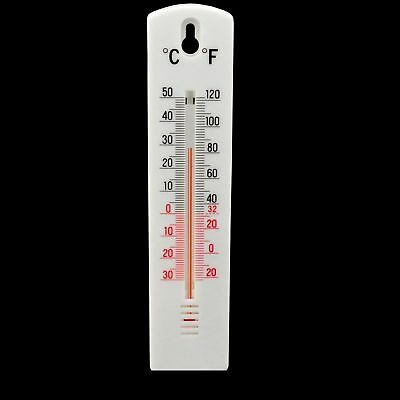 Wall Thermometer - Indoor Outdoor Greenhouse Garden Home Office Room