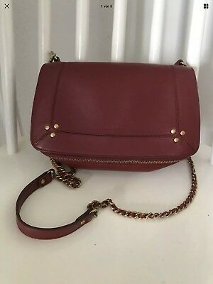 Jerome Dreyfuss, Handtasche, Bobi, Bordeaux, TOP