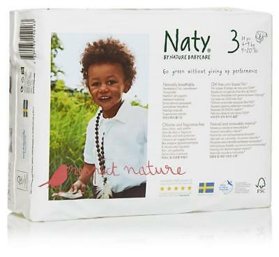Naty Size 3 Nappies 4-9kg 31 Pack