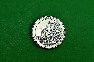 2012-P  BU Mint State  (ACADIA) US National Park Quarter