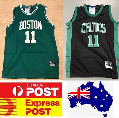 classic fit 4db13 49999 BOSTON CELTICS KYRIE Irving Jerseys, Embroidered, green or black color
