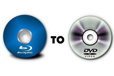 Blue Ray To Dvd Transfer