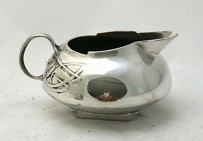 very fine liberty & co tudric pewter milk jug archibald knox 0231