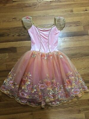curtain call dance costume size child large