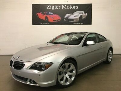 2005 BMW 6-Series  2005 BMW 645Ci  Coupe Panoramic Roof Clean Carfax