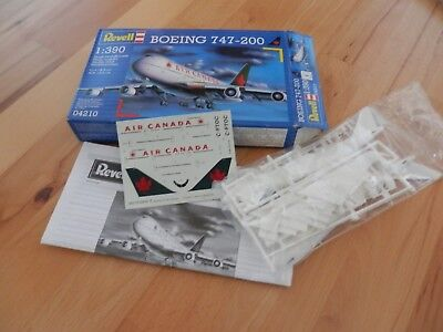 Revell 04210 Boeing 747-200 Air Canada Civil Passenger Jet Aircraft 1:390