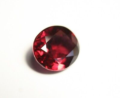 5.9ct Purple Malaya Garnet - Custom Oval Cut - Very Large Clean Garnet