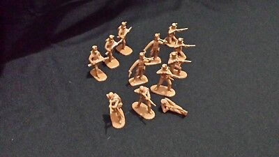 Armies In Plastic Napoleonic Wars Portugese Infantry 12 Figure Lot.