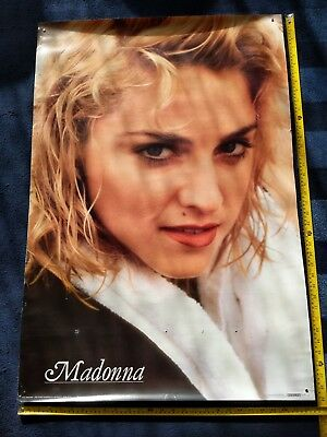 MADONNA 1986 Herb Ritts Poster Huge 100 x 68 cm *RARE*