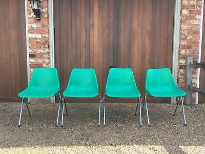 Robin Day Hille Chairs x 4
