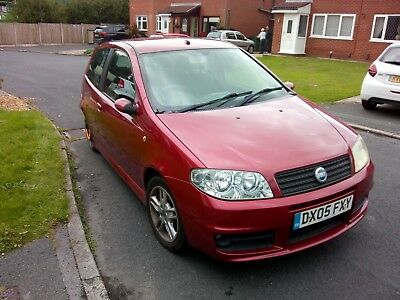 Fiat Punto 1.4 16v Sporting (damaged rear) new exhaust  / good tyres 76k miles