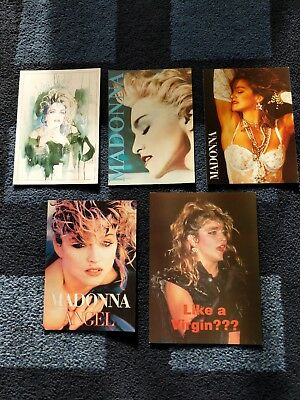 Madonna - Postcard collection - Rare great condition postcards & card