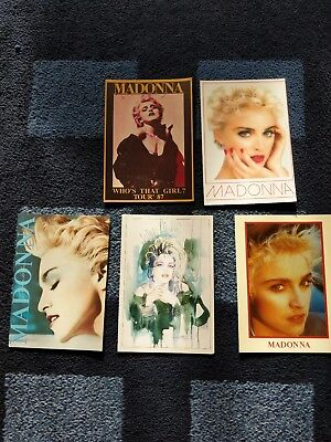 Madonna - Postcard collection - Rare great condition postcards