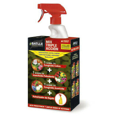 Pack Insecticida / Fungicida de Batlle Mix Triple Acción (750ml)