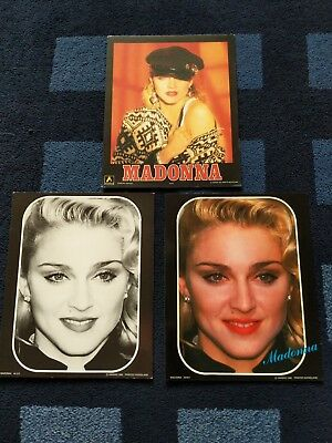 Madonna - Large Anabas 1986 / 1987 25 x 20 cm Postercard collection - Rare