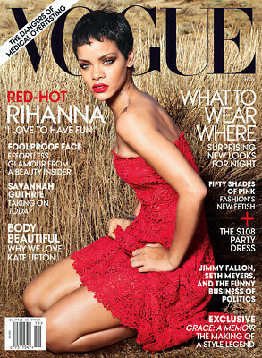 USA Vogue Magazine November 2012 Rihanna