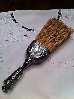 Fancy Scroll Floral Design Whisk Broom