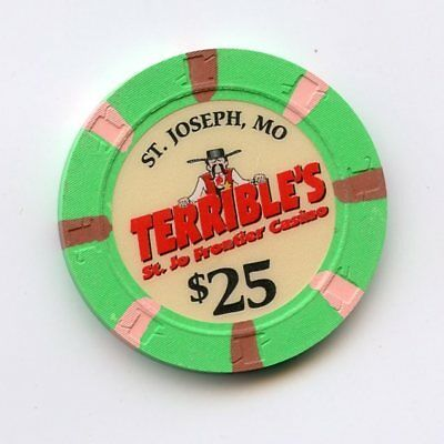 25.00 Chip from the Terribles St Jo Frontier St Jo Missouri Back-up