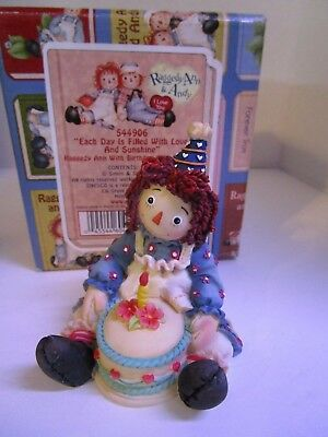 Raggedy Ann & Andy ~Each Day is Filled With Love and Sunshine ~ #544906 Birthday