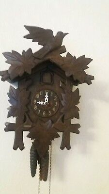 Vintage German Black Forest Cuckoo Clock Echternach