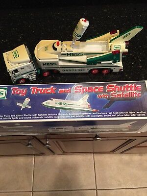 HESS TOY TRUCK LOT of 2 Excellent Condition