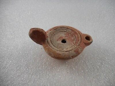 Ancient Byzantine Oil Lamp  4Th - 5Th Century