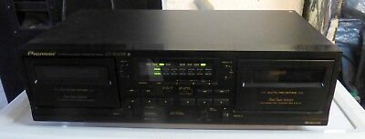 "Pioneer - ""CT-W 208R"" Stereo Double Cassette Deck (Sehr guter Zustand)"