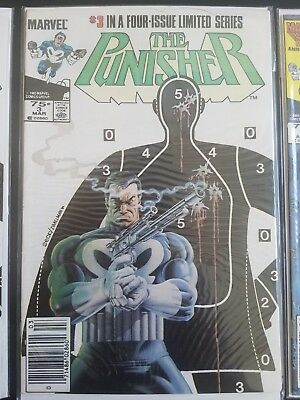 The Punisher #3 + 4 (Jul 1986, Marvel) - Limited Series (VF+) See Pics