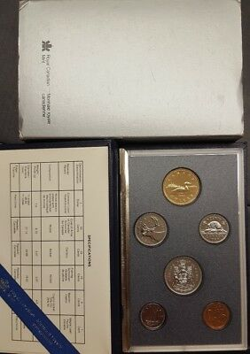 Canadian Specimen Coin Set 1989