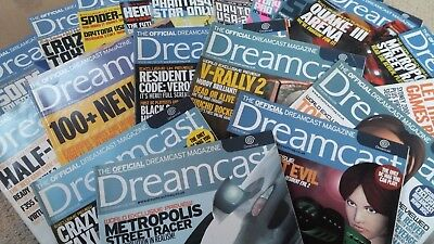 Official Dreamcast Magazine bundle including playable demo game discs