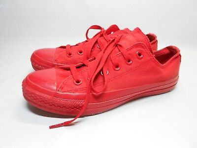 Converse CHUCK TAYLOR All Star Low Top Unisex Canvas Shoes Sneakers Mono Red