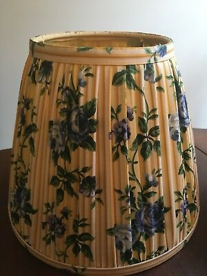 Longaberger Yellow Rose Trellis Lamp Shade