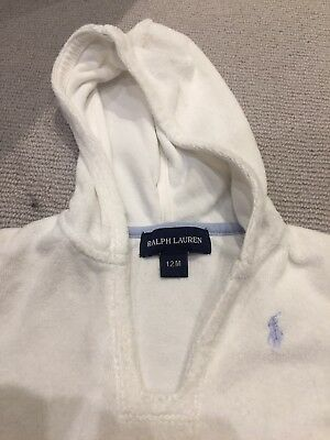 Ralph Lauren Baby Towel Bathrobe