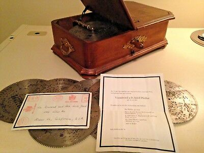 Vintage Antique large Music Box - EXTREMELY RARE AND PRECIOUS