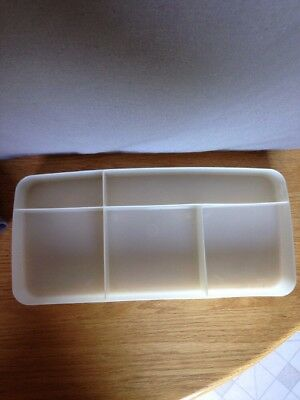 Vtg Samsonite Silhouette Train Case Plastic Insert Tray Only Replacement 5 Comp