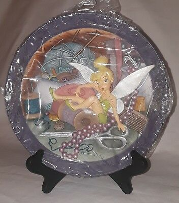 """Walt Disney's PETER PAN """"Tink, Tinkerbell, Where Are You?"""" 3-D Collectible Plate"""