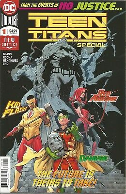 Teen Titans Special #1 | VF+ | 1ST PRINT | 1st App of Crush | DC